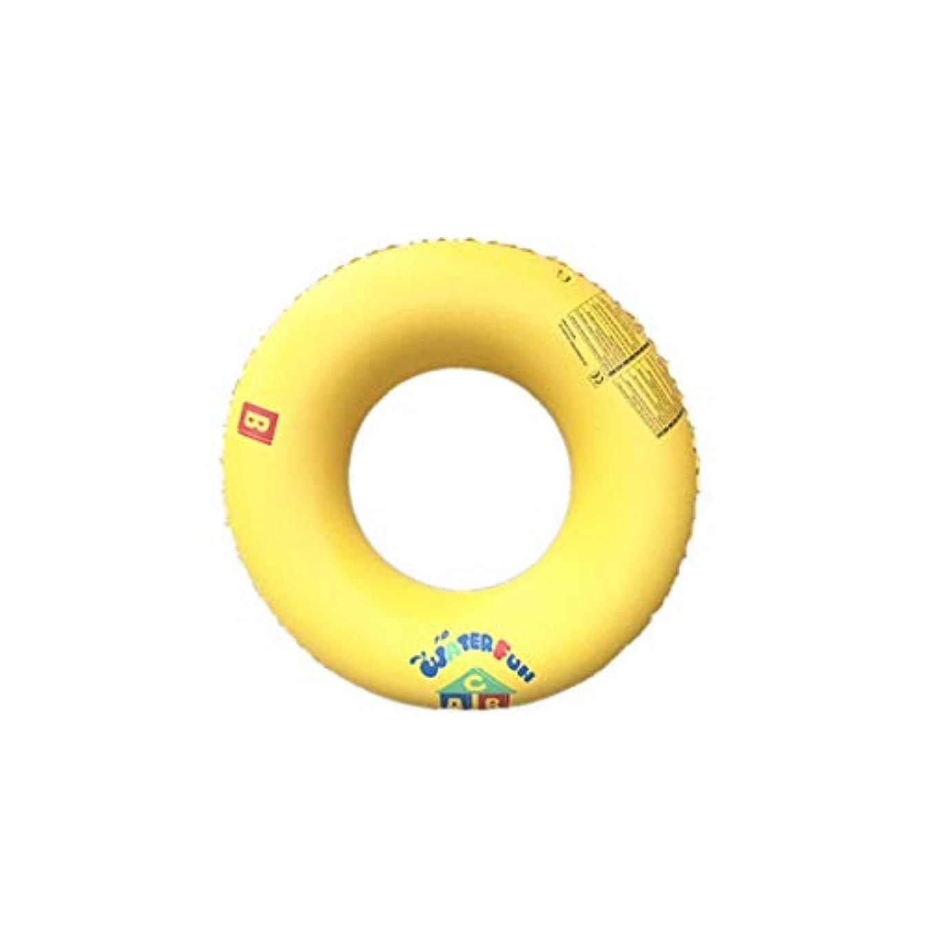 セメント衝動複製するクラシック 男女兼用 浮き輪 レディース夏浮輪 水インフレータブル水泳リング夏のポータブルスイミングプールビーチフローティングプールの装飾大人子供カップル黄色 メガ割引 ( Size : 90cm )