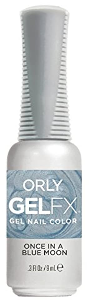 スケッチ交通渋滞水陸両用Orly Gel FX - Darlings of Defiance Collection - Once in a Blue Moon - 0.3 oz / 9 mL