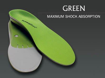 SUPER feet ワイドサイズ [ TRIM FIT GREEN WIDE ] スーパーフィート インソール トリムフィット グリーン ワイド 正規品
