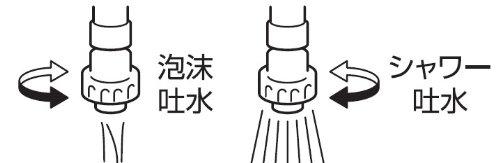 三栄水栓 【キッチン用シャワーヘッド】 流しシャワー PM25-13