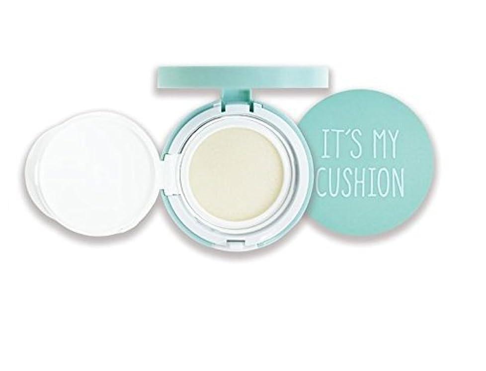 葡萄解任破壊的なIts My Cushion ケース DIY BB クッションパクト コスメティックケース スポンジ付き、 内部ケース、 自分で作るコスメティックケース (クッションケー スカラー : ミント) (Mint Case) [並行輸入品]