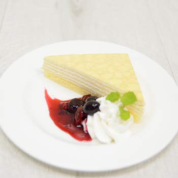 【業務用】ベルリーベ フリーカットケーキ ミルクレープ 330g 【冷凍】