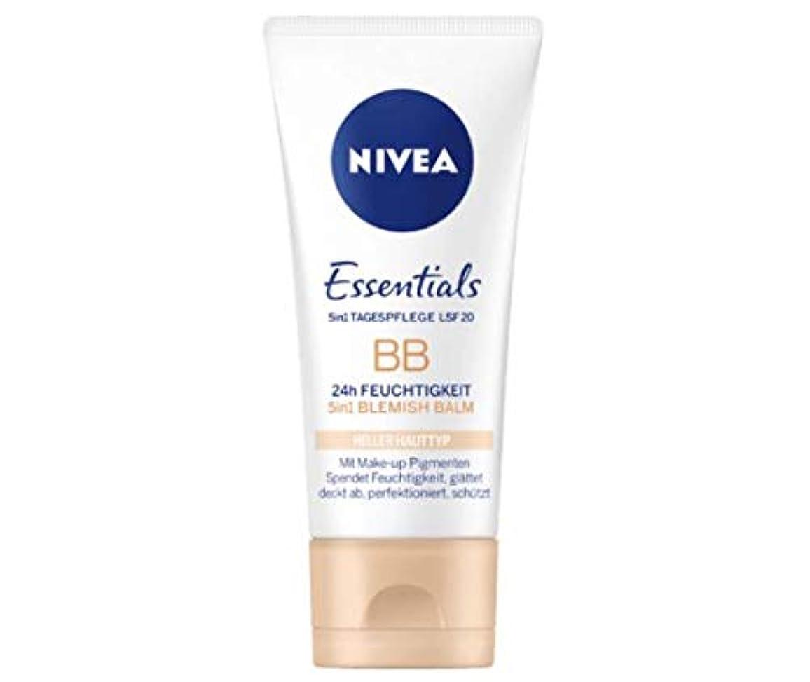 放射能ハミングバード刻むニベア Nivea BBクリーム Essentials 50ml [並行輸入品]