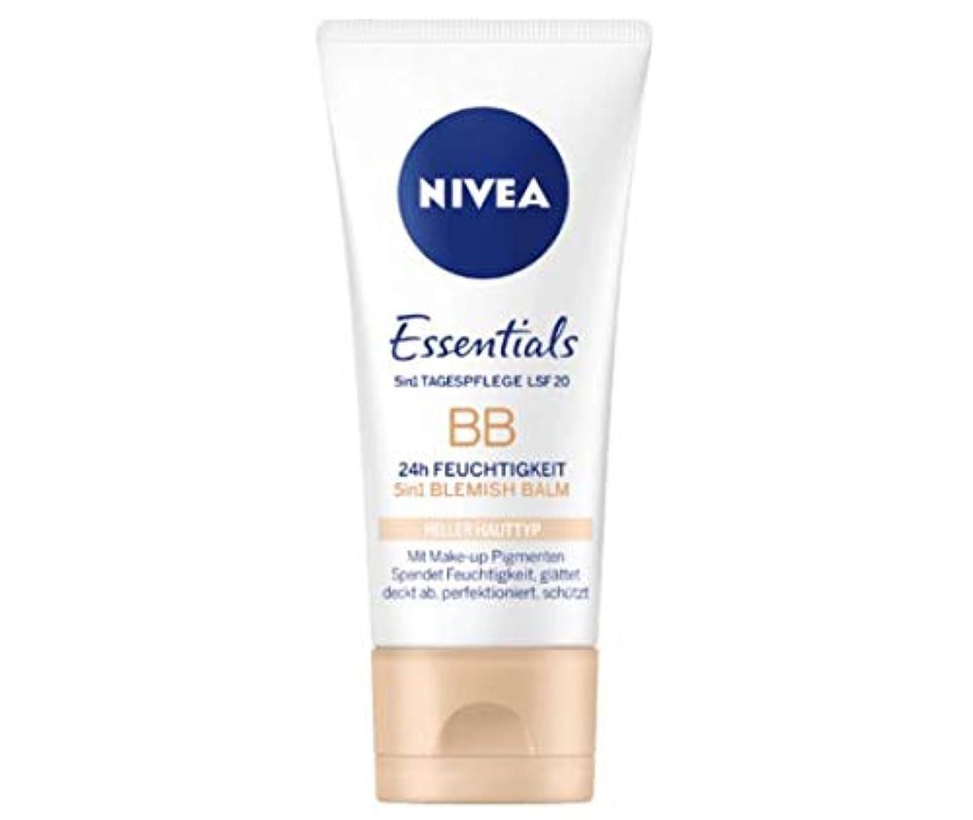 ロマンスフィヨルド明日ニベア Nivea BBクリーム Essentials 50ml [並行輸入品]