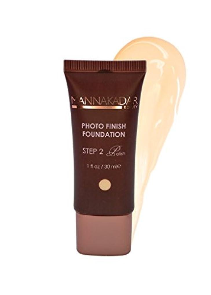 弱める消毒するグレーManna Kadar Cosmetics フォトフィニッシュ財団C3 - 完璧なリネン