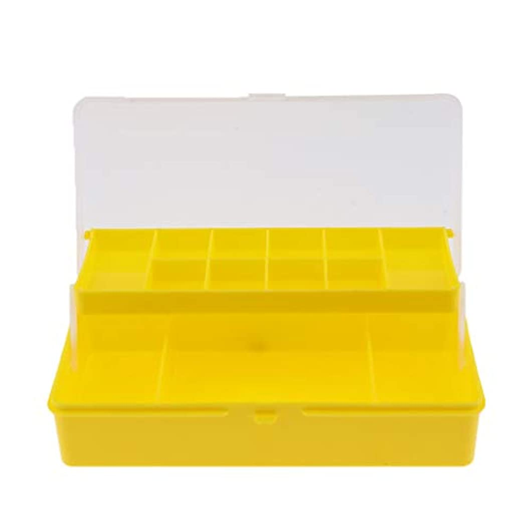 ブーム支給信号FLAMEER タックルケース 収納ボックス 2層 透明蓋 仕切り 防水 2サイズ