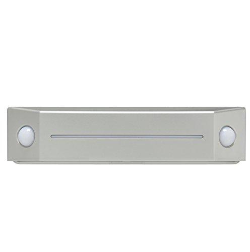 乾電池式LEDセンサーライト フットタイプ 白色相当 BOS-FN2