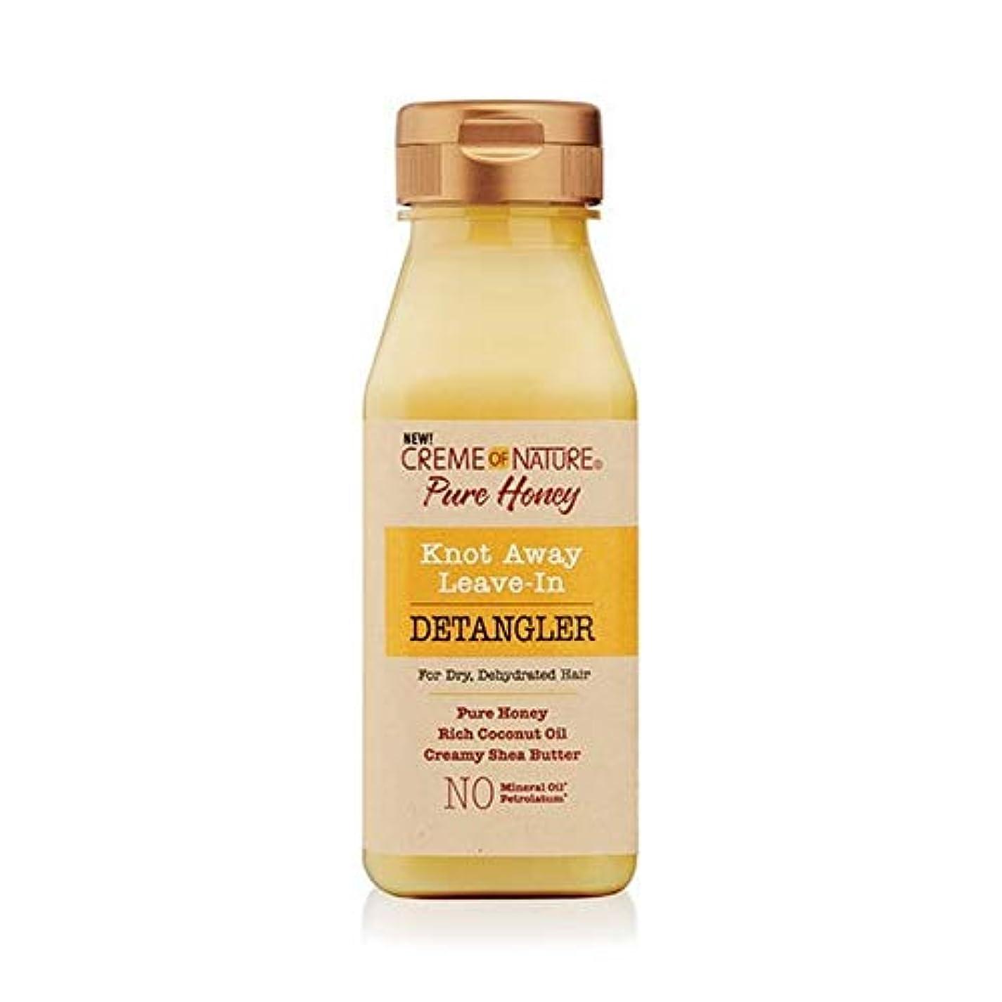 着るゴネリルチャネル[Creme of Nature ] 自然の純粋な蜂蜜の結び目のクリームは離れDetanglerに残します - Creme of Nature Pure Honey Knot Away Leave in Detangler...