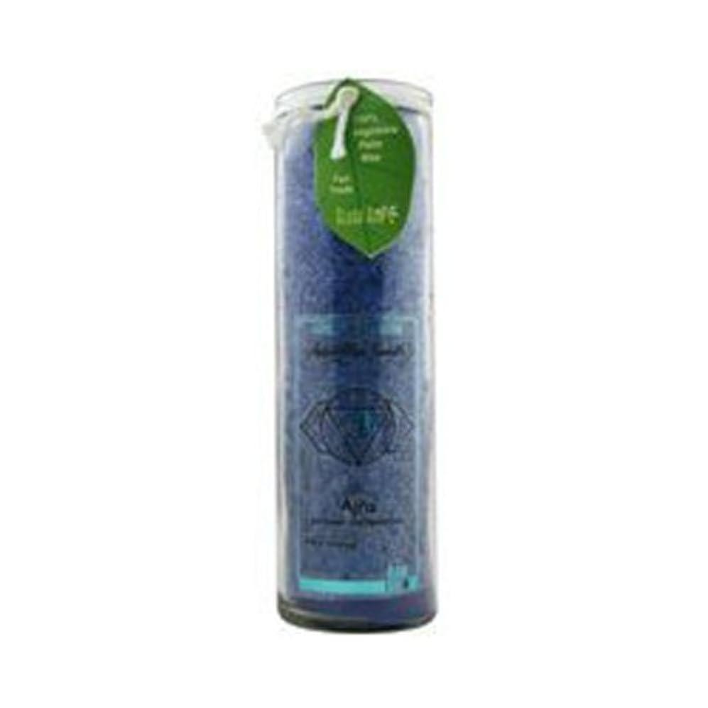 サーマル樹皮干渉するアロハベイCandle Chakra Jar無香インディゴ