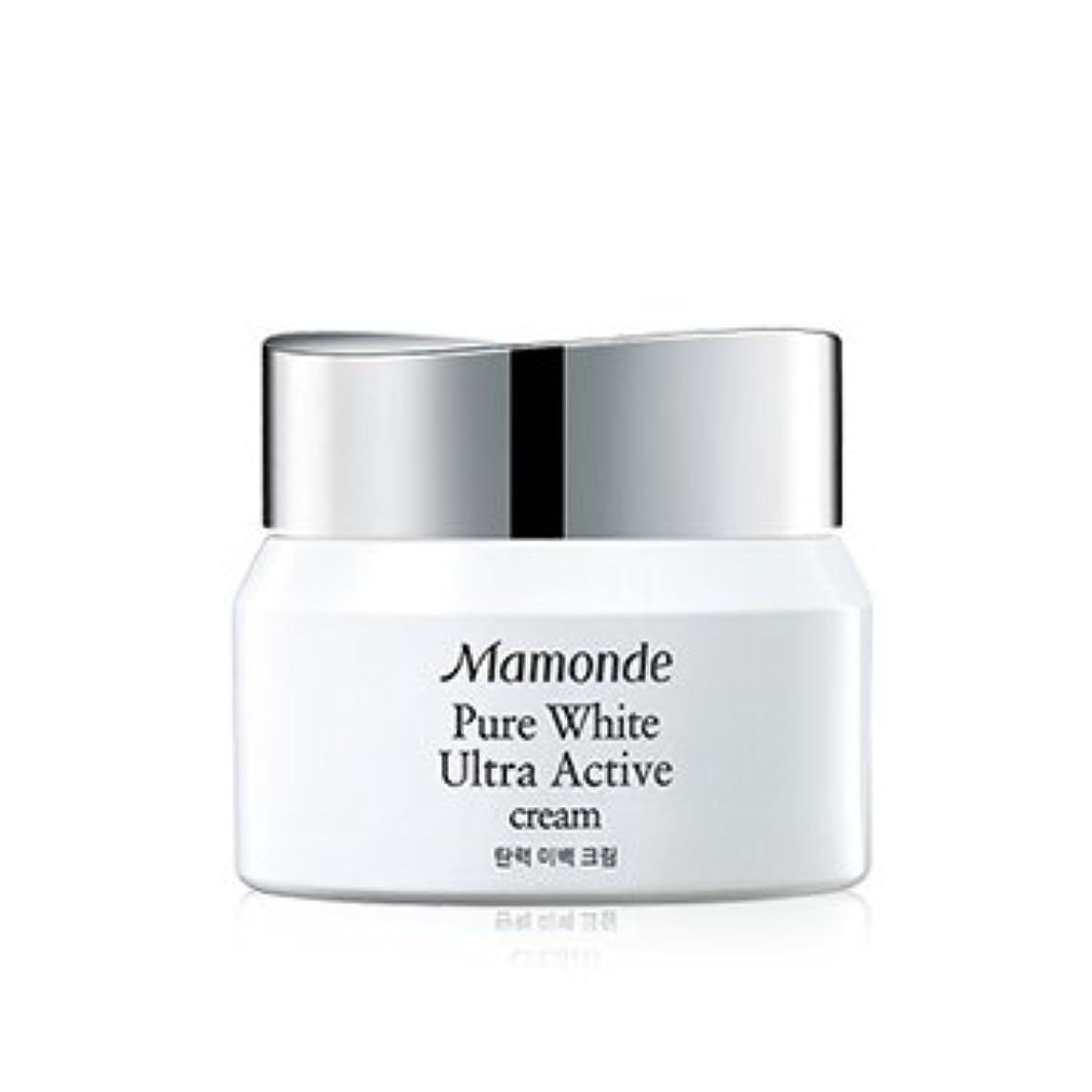 最初はあいまい独創的Mamonde Pure White Ultra Active Cream 50ml/マモンド ピュア ホワイト ウルトラ アクティブ クリーム 50ml [並行輸入品]