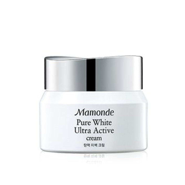 モーターボリューム結核Mamonde Pure White Ultra Active Cream 50ml/マモンド ピュア ホワイト ウルトラ アクティブ クリーム 50ml [並行輸入品]