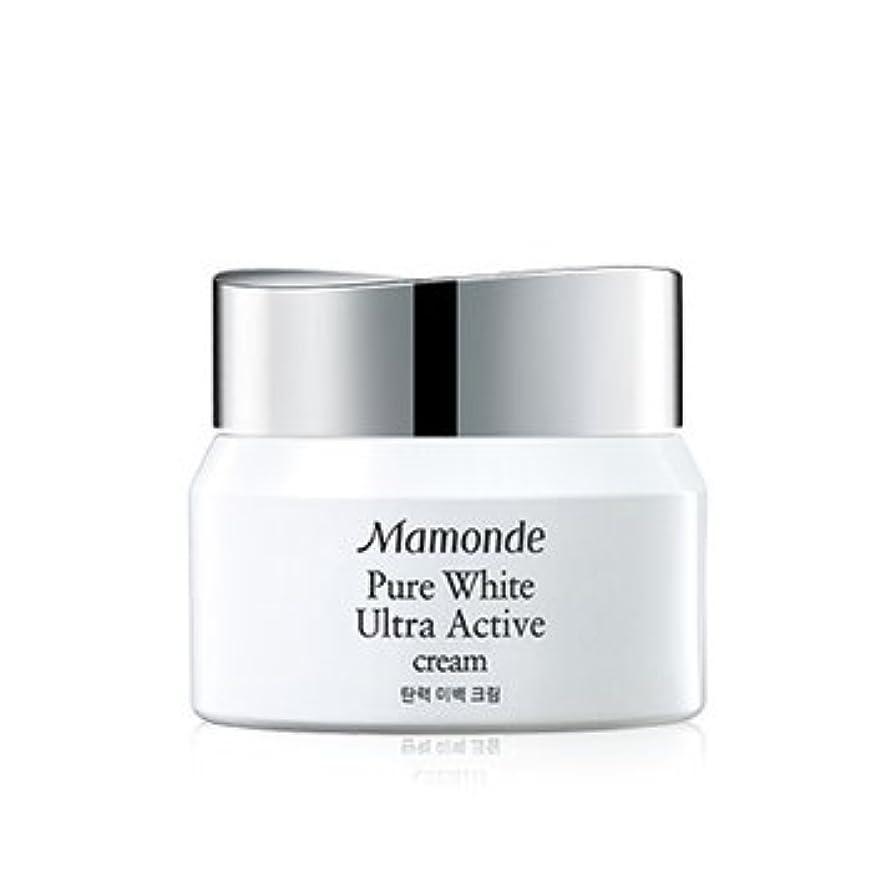 消費センサー思われるMamonde Pure White Ultra Active Cream 50ml/マモンド ピュア ホワイト ウルトラ アクティブ クリーム 50ml [並行輸入品]