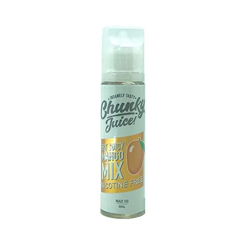 大人気 Chunky Juice チャンキージュース VAPE 電子タバコ リキッド マレーシア産 VapeHub.JPオリジナルセット (Mango Mix, 60ml)
