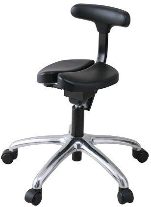 【姿勢が良くなる椅子】【腰痛予防・お子様の集中力向上にも】アーユルチェアー 01 ブラック