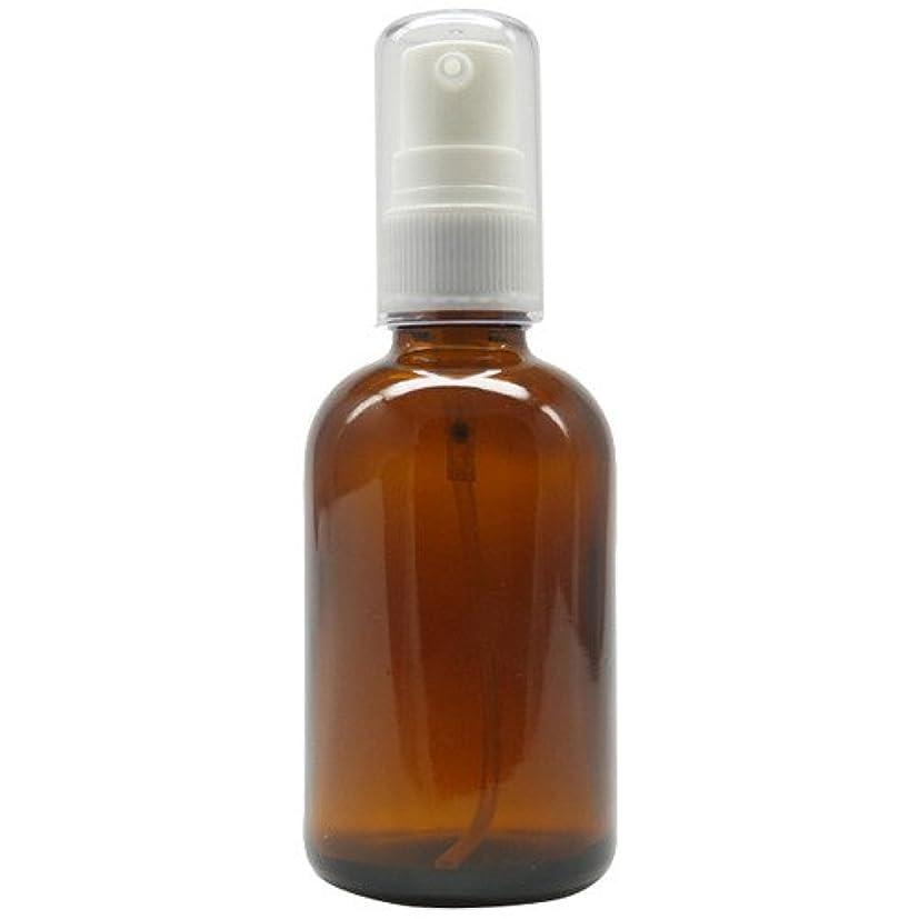 葉を拾う写真腕アロマアンドライフ (D)茶褐色ポンプ瓶60ml 3本セット