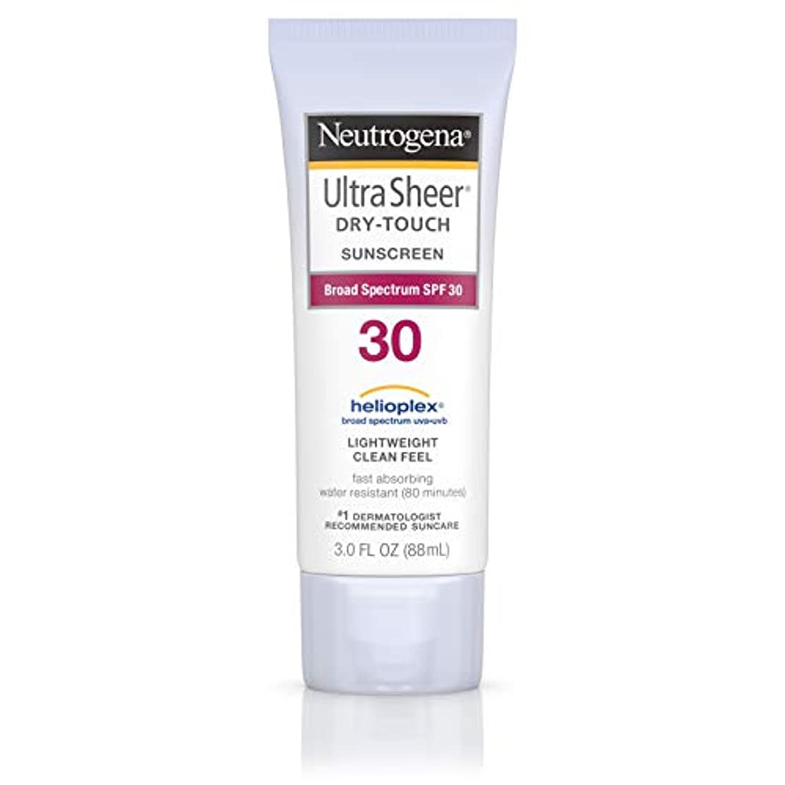 華氏うつ取るNeutrogena Ultra Sheer Sunblock Dry Touch SPF 30 (並行輸入品)