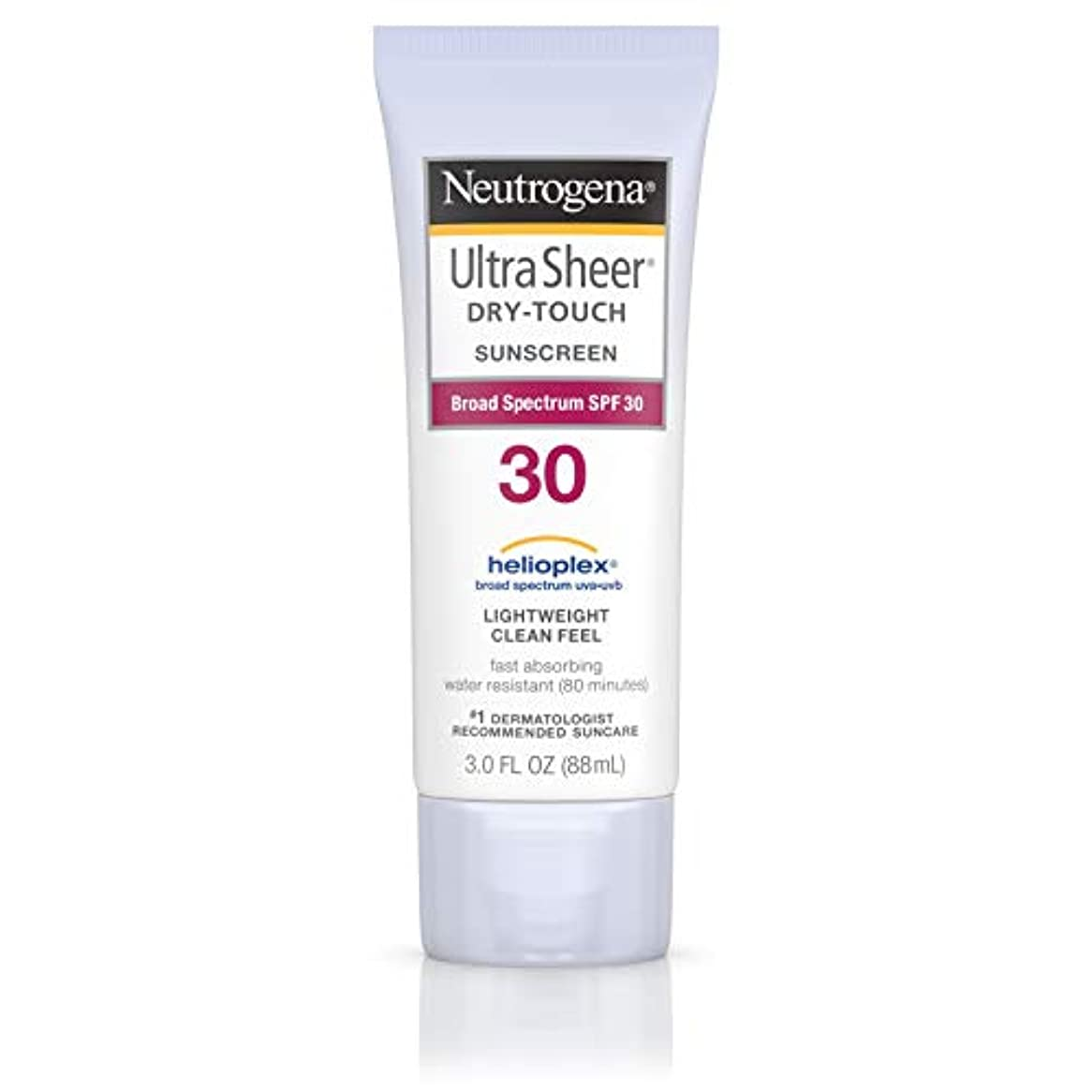 ショート生む消防士Neutrogena Ultra Sheer Sunblock Dry Touch SPF 30 (並行輸入品)