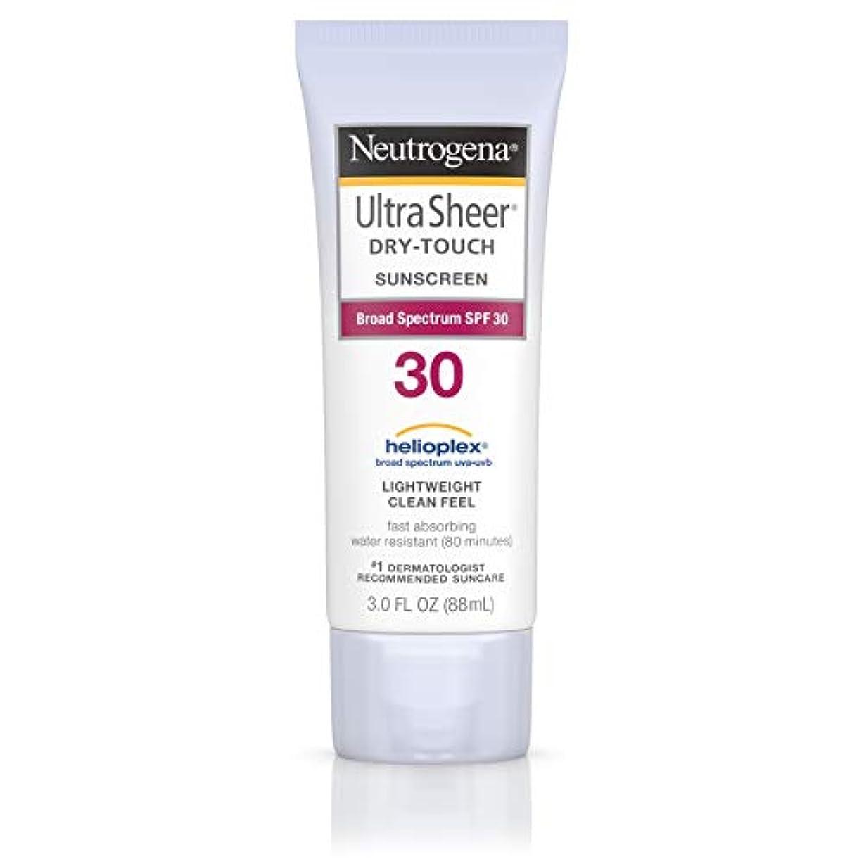 お風呂数学マーティフィールディングNeutrogena Ultra Sheer Sunblock Dry Touch SPF 30 (並行輸入品)