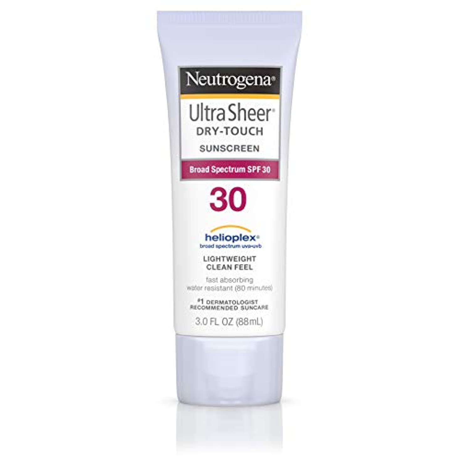 ボール妨げる評価するNeutrogena Ultra Sheer Sunblock Dry Touch SPF 30 (並行輸入品)