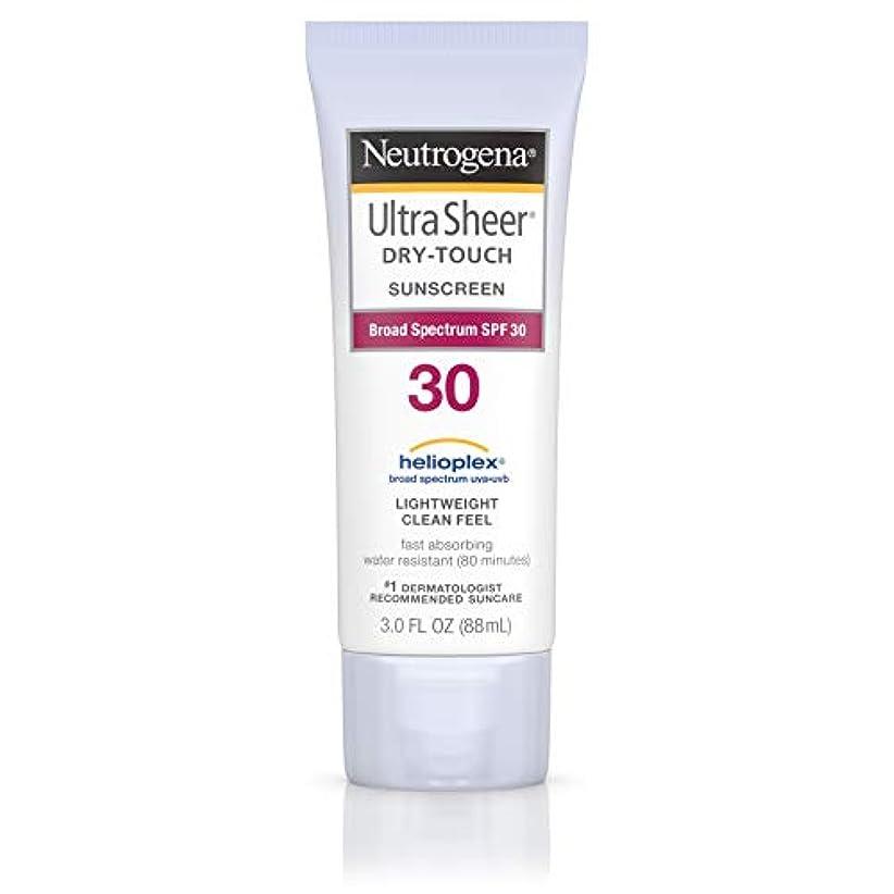 ジャズ主導権敬なNeutrogena Ultra Sheer Sunblock Dry Touch SPF 30 (並行輸入品)