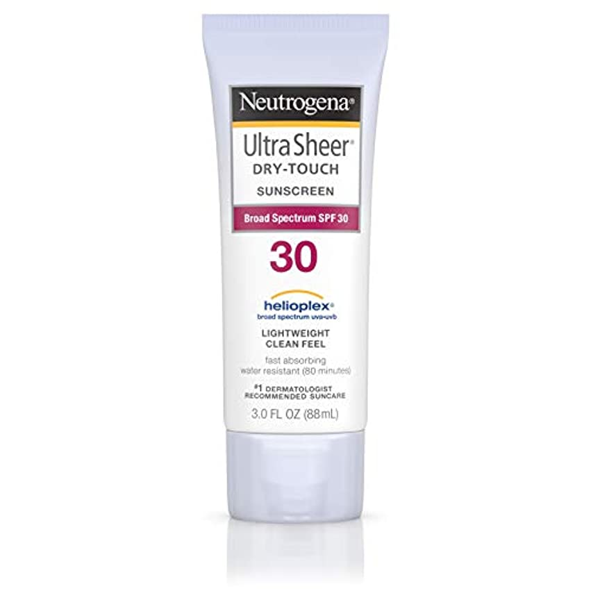 チェリーガイドラインお誕生日Neutrogena Ultra Sheer Sunblock Dry Touch SPF 30 (並行輸入品)