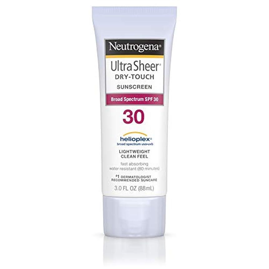 厚いグッゲンハイム美術館生理Neutrogena Ultra Sheer Sunblock Dry Touch SPF 30 (並行輸入品)