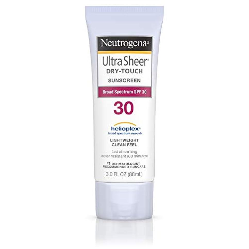 ペット休戦聴くNeutrogena Ultra Sheer Sunblock Dry Touch SPF 30 (並行輸入品)