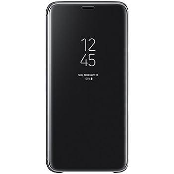 Galaxy S9 (5.8インチ)用 Clear View Standing Cover 【Galaxy純正 国内正規品】 ブラック EF-ZG960CBEGJP