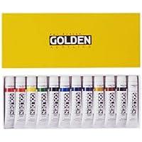 GOLDEN ACRYLICS ゴールデンアクリリックス 20ml 12色セット
