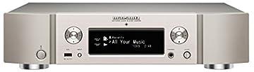 marantz ネットワークプレーヤー Bluetooth・Airplay・ワイドFM対応/ハイレゾ音源対応 シルバーゴールド NA-6005/FN