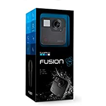 GoPro Fusion — 360 Waterproof Digital VR Camera with Spherical 5.2K HD Video 18MP Photos