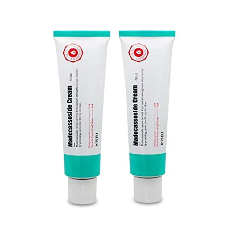 オピュマデカソサイドクリーム50ml x2本セットお肌の保湿、A'pieu Madecassoside Cream 50ml x 2ea Set [並行輸入品]