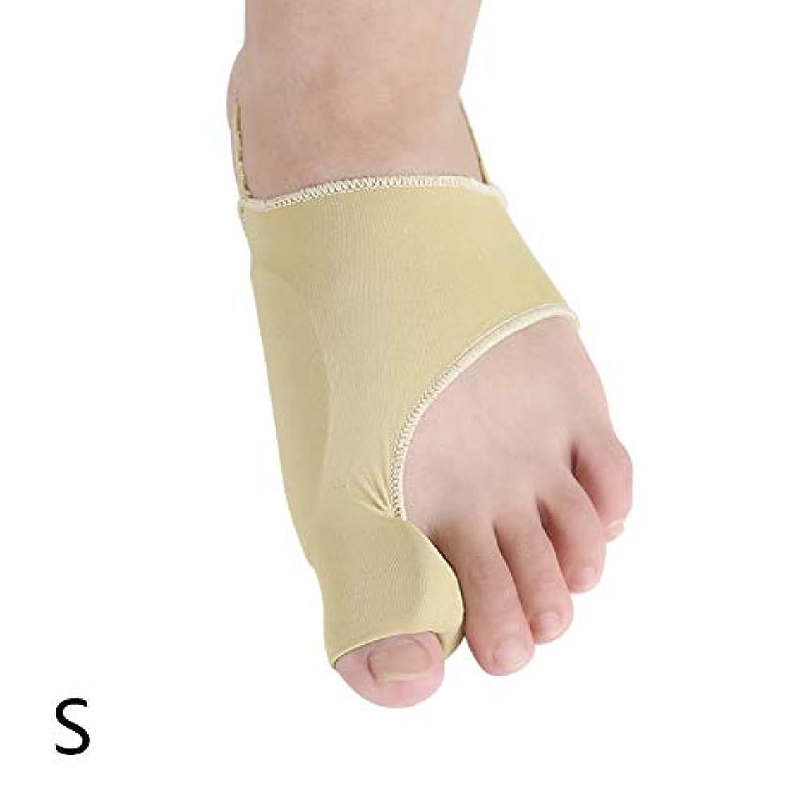 不透明なマーキングメタリックEsolom 男性と女性のつま先プロテクター 親指外反矯正 大骨矯正ベルト つま先セパレーター 毎日の使用 つま先の分離保護 フットケアツール
