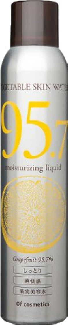 ゴミ札入れタールオブ?コスメティックス ベジタブルウォーター?G95.7(潤いとハリ、輝きが欲しい方)230g グレープフルーツの香り 美容室専売 美容水 潤い ハリ 肌ケア オブコスメ