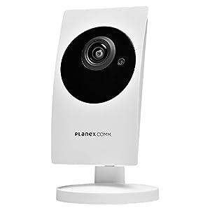 PLANEX ネットワークカメラ カメラ一発! フルHD 暗視機能・双方向通話対応 CS-W90FHD