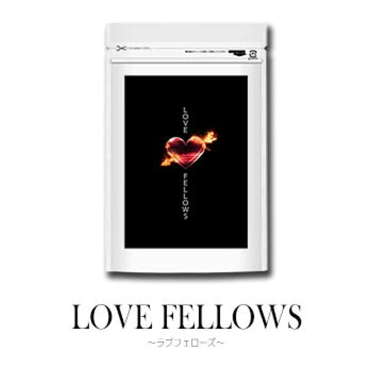 自体継続中バーチャルラブフェローズ LOVE FELOWS サプリ 男性用 自信 フェロモン