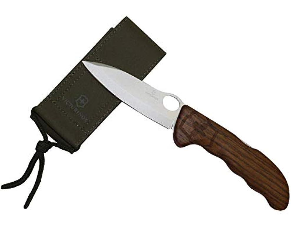 ヘルメットピグマリオンパラダイスVictorinoxハンターProウォールナット木製 – ポケットナイフ13 cm – ナイロンポーチ