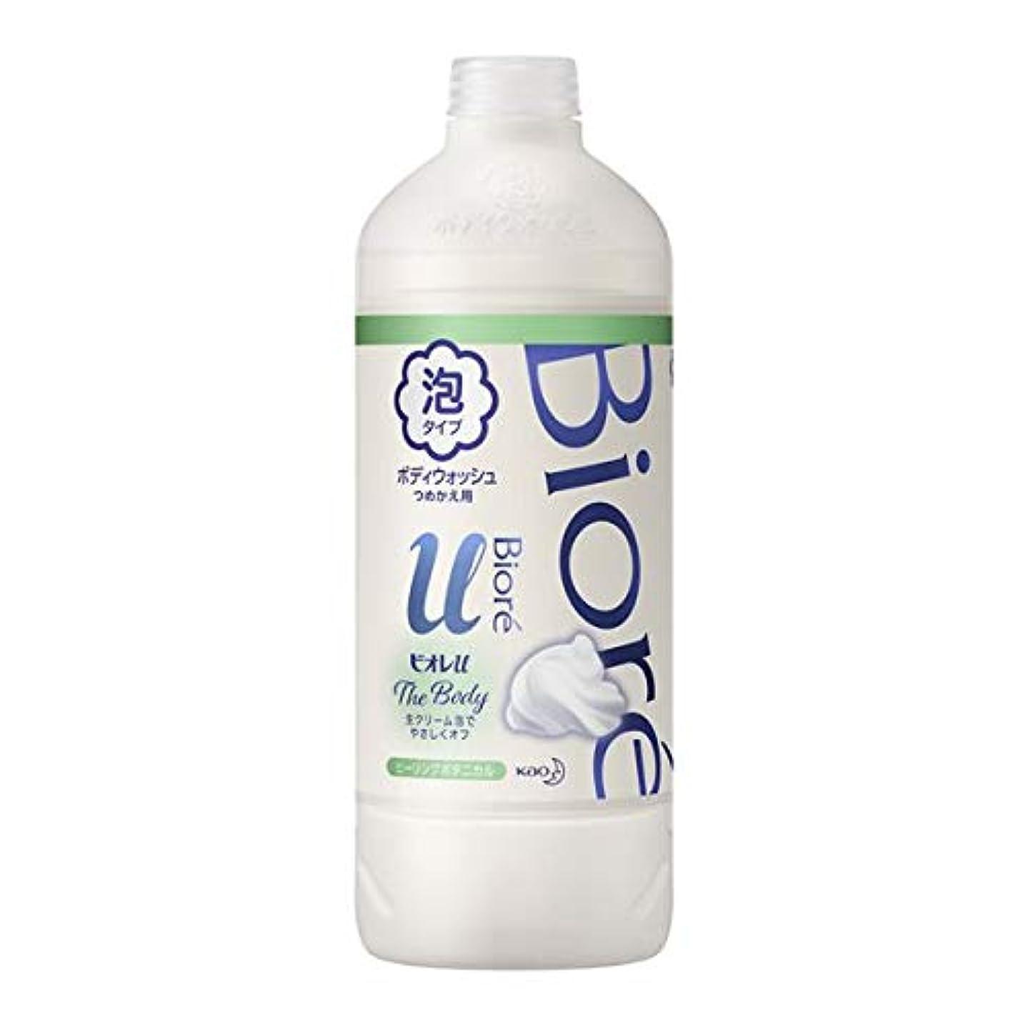 ソフトウェア漏れ最も早い花王 ビオレu ザ ボディ泡ヒーリングボタニカルの香り 詰替え用 450ml