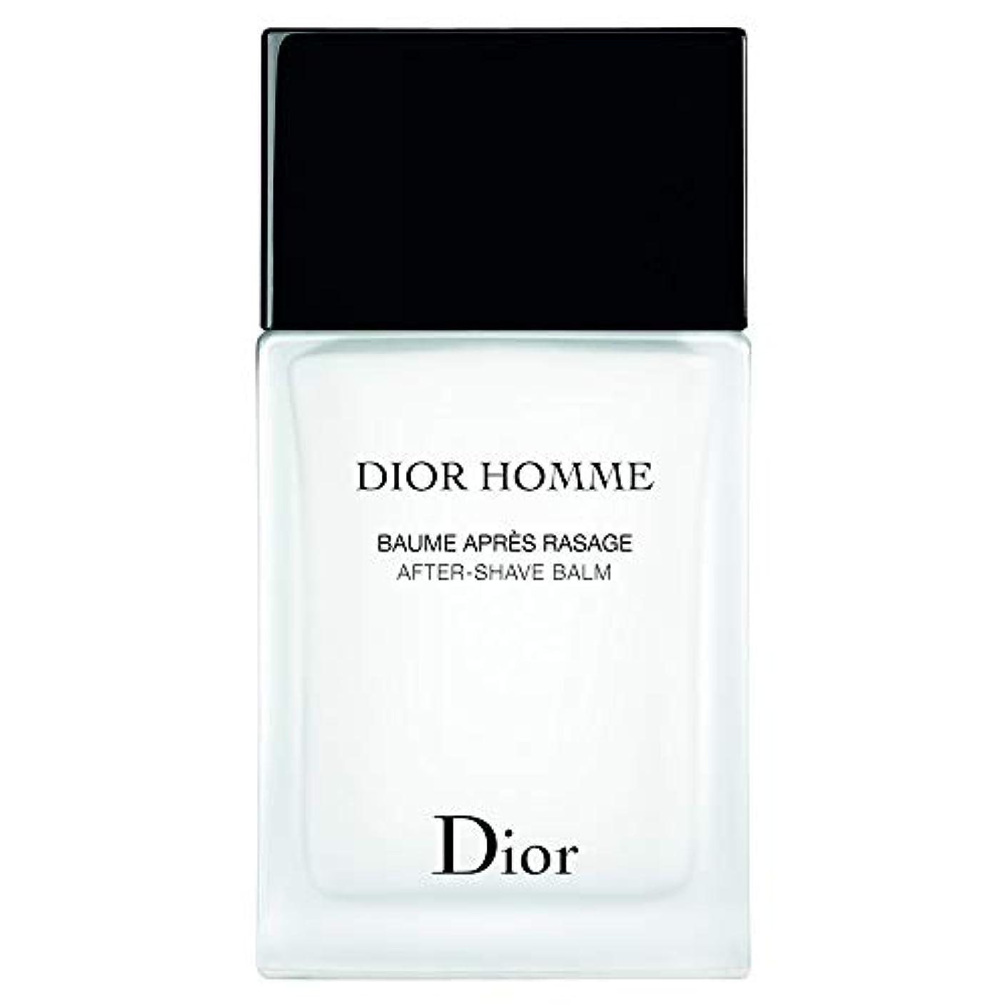 ドレイン空中すばらしいです[Dior] ディオールオムアフターシェーブバーム100ミリリットル - Dior Homme After-Shave Balm 100ml [並行輸入品]