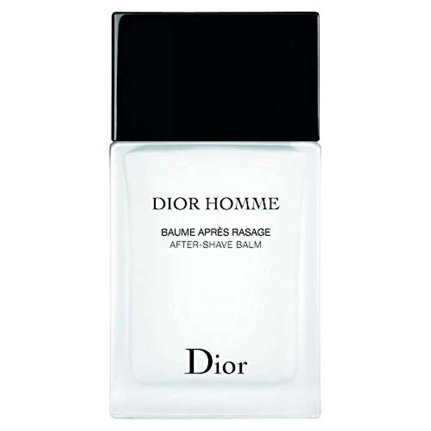 補助殺人志す[Dior] ディオールオムアフターシェーブバーム100ミリリットル - Dior Homme After-Shave Balm 100ml [並行輸入品]