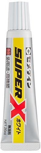 セメダイン 超多用途 接着剤 スーパーX ホワイト P20ml AX-022