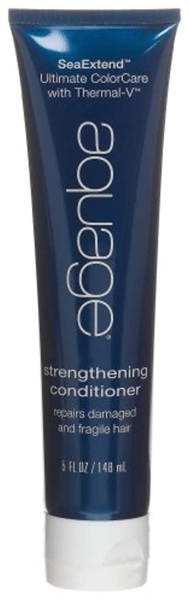 宙返り恋人本by Aquage SEA EXTEND STRENGTHENING CONDITIONER FOR DAMAGED AND FRAGILE HAIR 5 OZ by AQUAGE