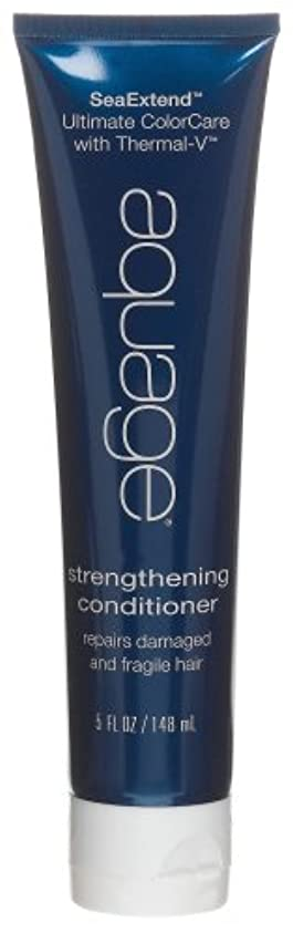 怠感建物普遍的なby Aquage SEA EXTEND STRENGTHENING CONDITIONER FOR DAMAGED AND FRAGILE HAIR 5 OZ by AQUAGE