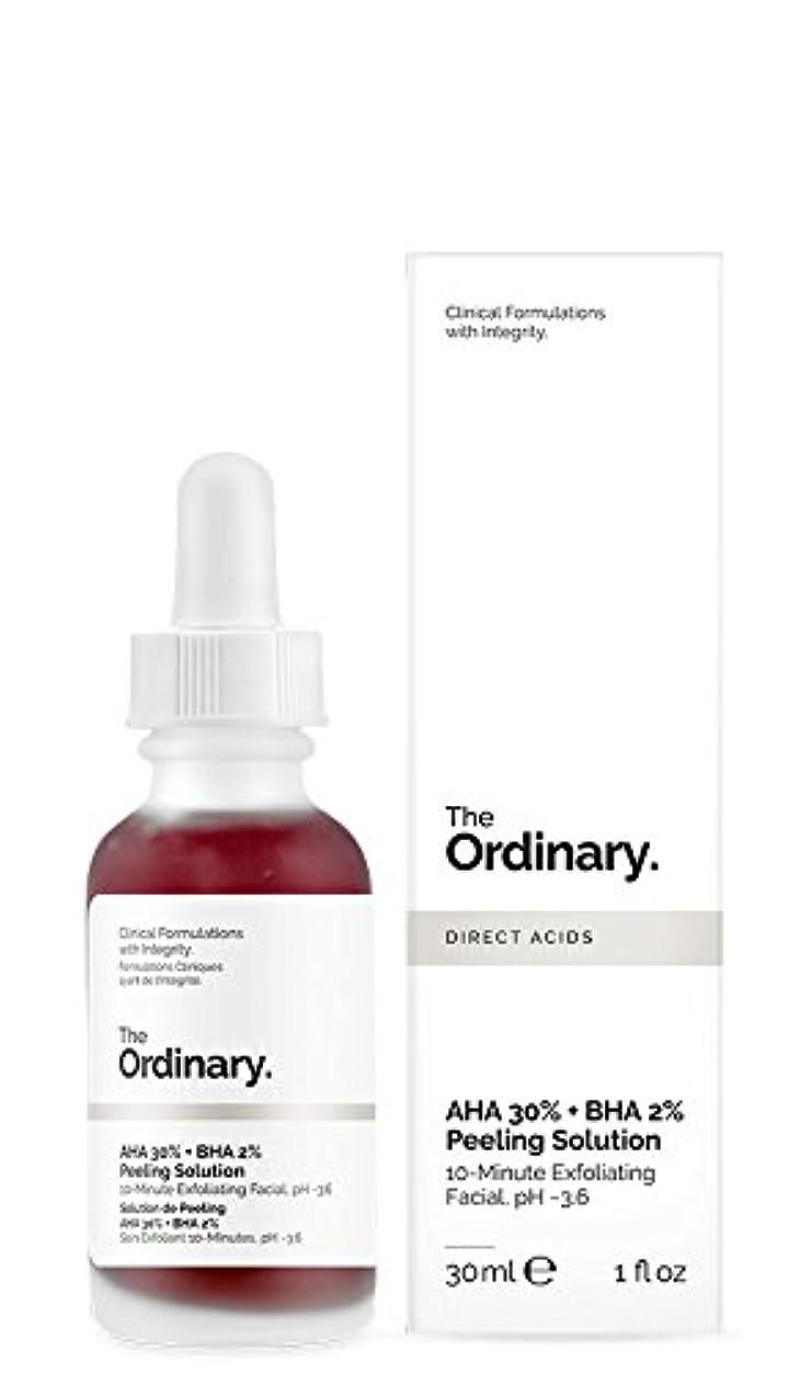 本体乳剤熟すジ オーディナリー The Ordinary AHA 30% + BHA 2% Peeling Solution 30ml カナダ発の大注目スキンケアブランド【並行輸入品】