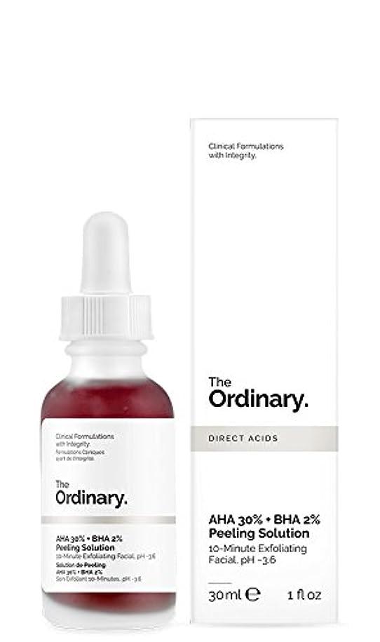 ウィザード引く受付ジ オーディナリー The Ordinary AHA 30% + BHA 2% Peeling Solution 30ml カナダ発の大注目スキンケアブランド【並行輸入品】
