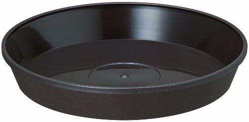 大和プラスチック 鉢・プランター フレグラープレート 43型用 φ365×H60 ダークブラウン