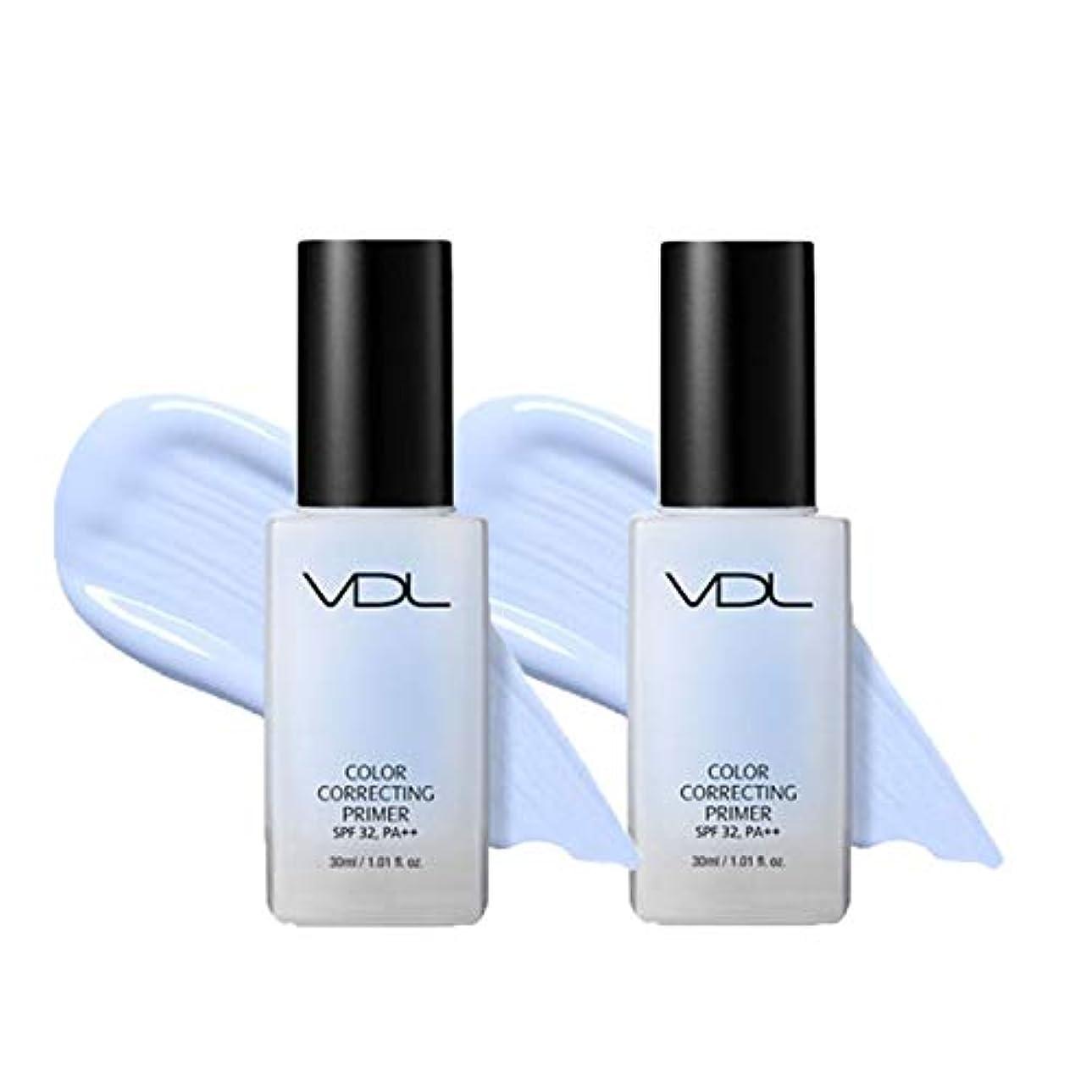 アブストラクト硬い事務所VDLカラーコレクティングプライマー30mlx2本セット3カラーのメイクアップベース韓国コスメ、VDL Color Correcting Primer 30ml x 2ea Set 3-Colors Make-up Base...
