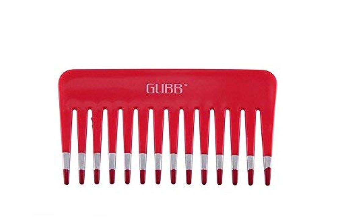 砲兵人気怖がらせるGUBB Vital Shampoo Comb (Wide & Coarse Teeth) [並行輸入品]