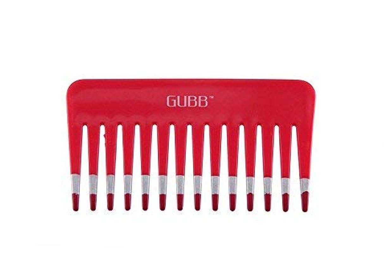 瞑想的隙間印をつけるGUBB Vital Shampoo Comb (Wide & Coarse Teeth) [並行輸入品]