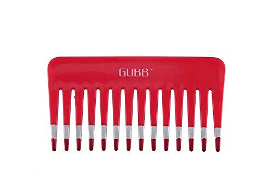 適合する殺します先行するGUBB Vital Shampoo Comb (Wide & Coarse Teeth) [並行輸入品]